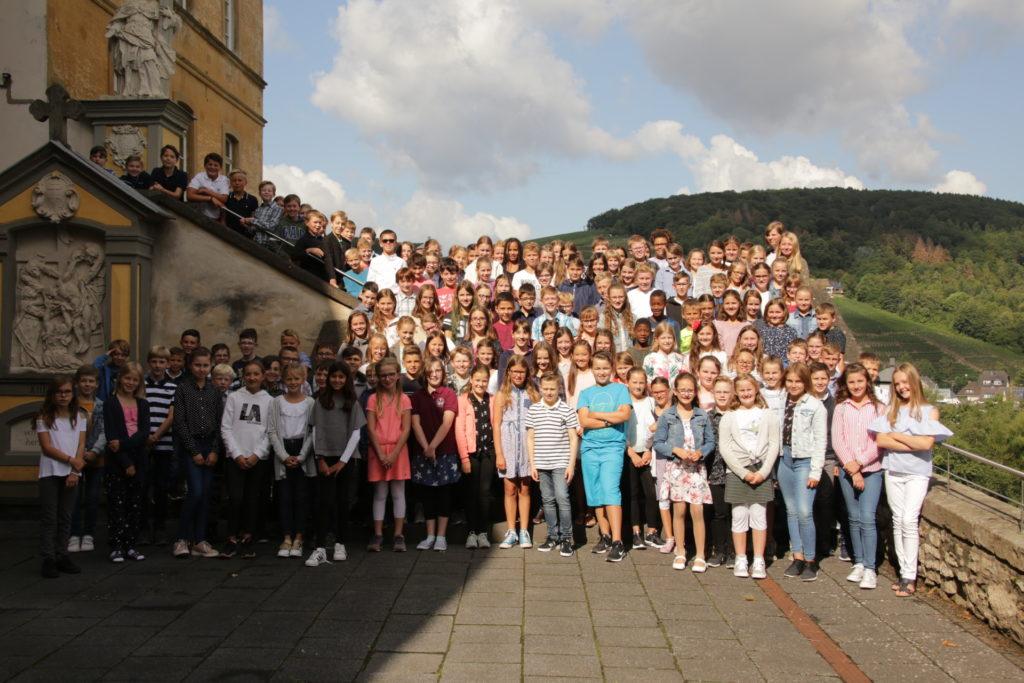Einschulung Gymnasium Calvarienberg 2019