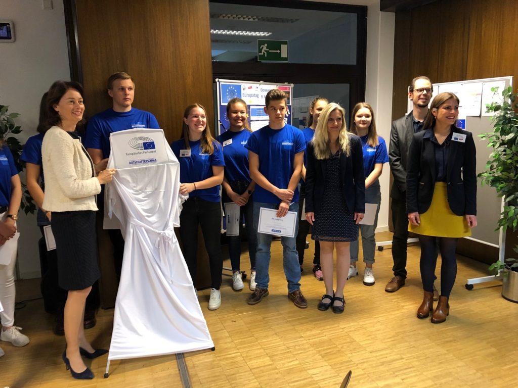 Europas Botschafter am Calvarienberg - Gymnasium Calvarienberg