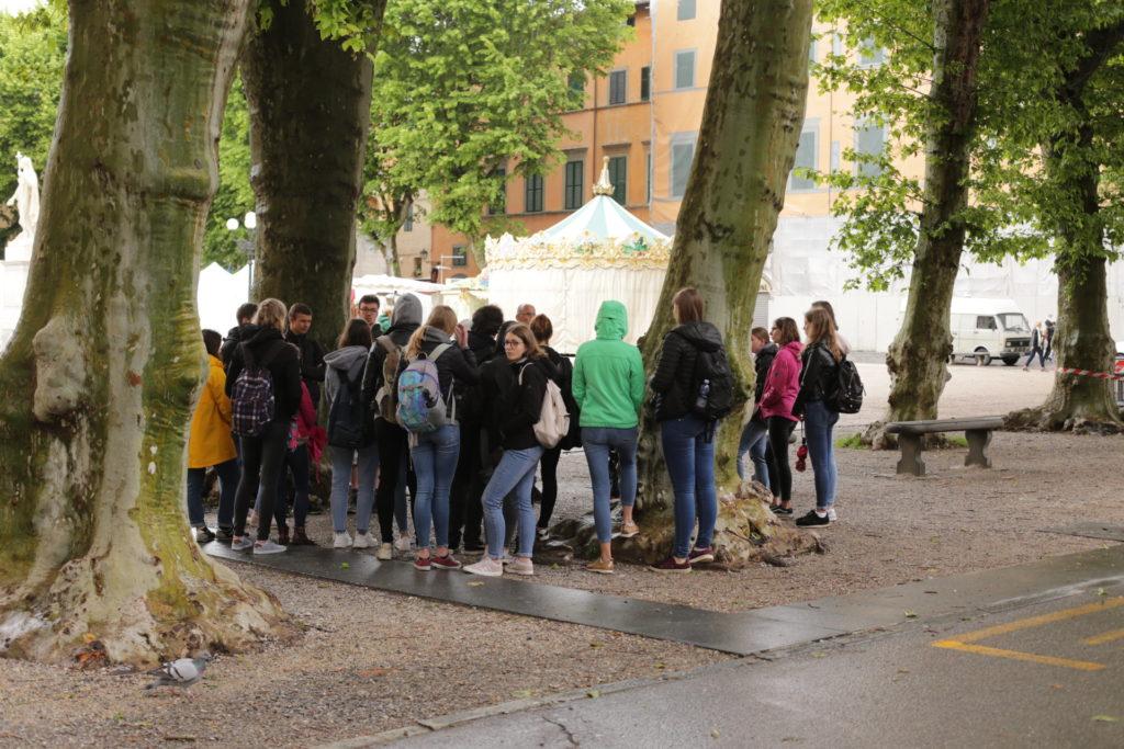 Studienfahrt der MSS 12 in die Toskana - Gymnasium Calvarienberg