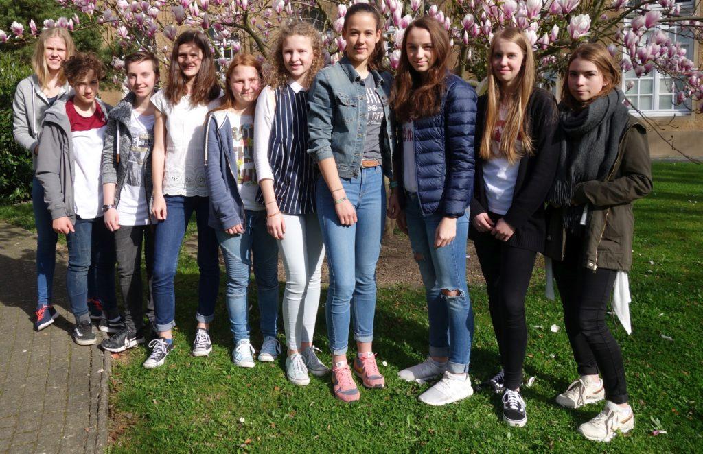 Gymnasium Calvarienberg bei Jugend trainiert für Olympia erfolgreich! - Gymnasium Calvarienberg