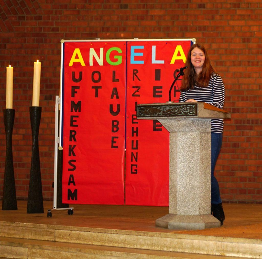 """""""Wir sind Angela"""" - Gymnasium Calvarienberg"""