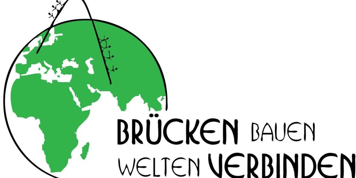 Logo Brücken bauen - Welten verbinden