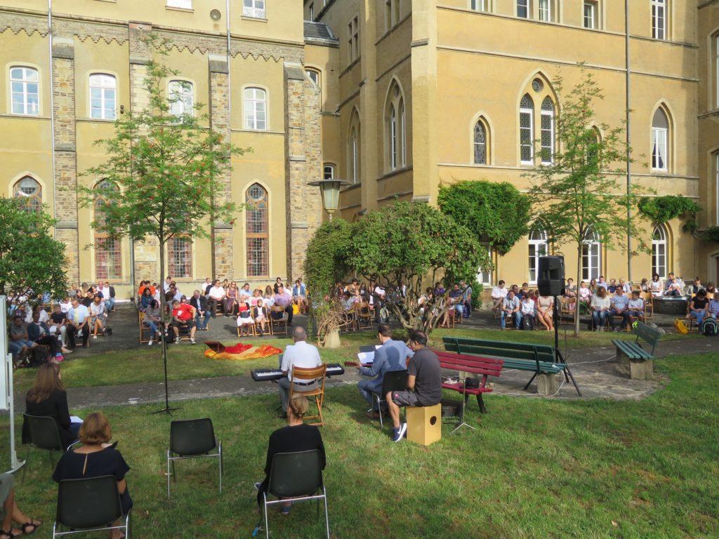 Feierliche Einschulung am Calvarienberg - Gymnasium Calvarienberg