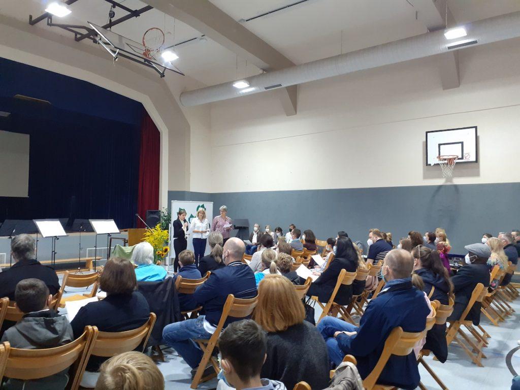 Feierliche Einschulung auf dem Calvarienberg - Gymnasium Calvarienberg