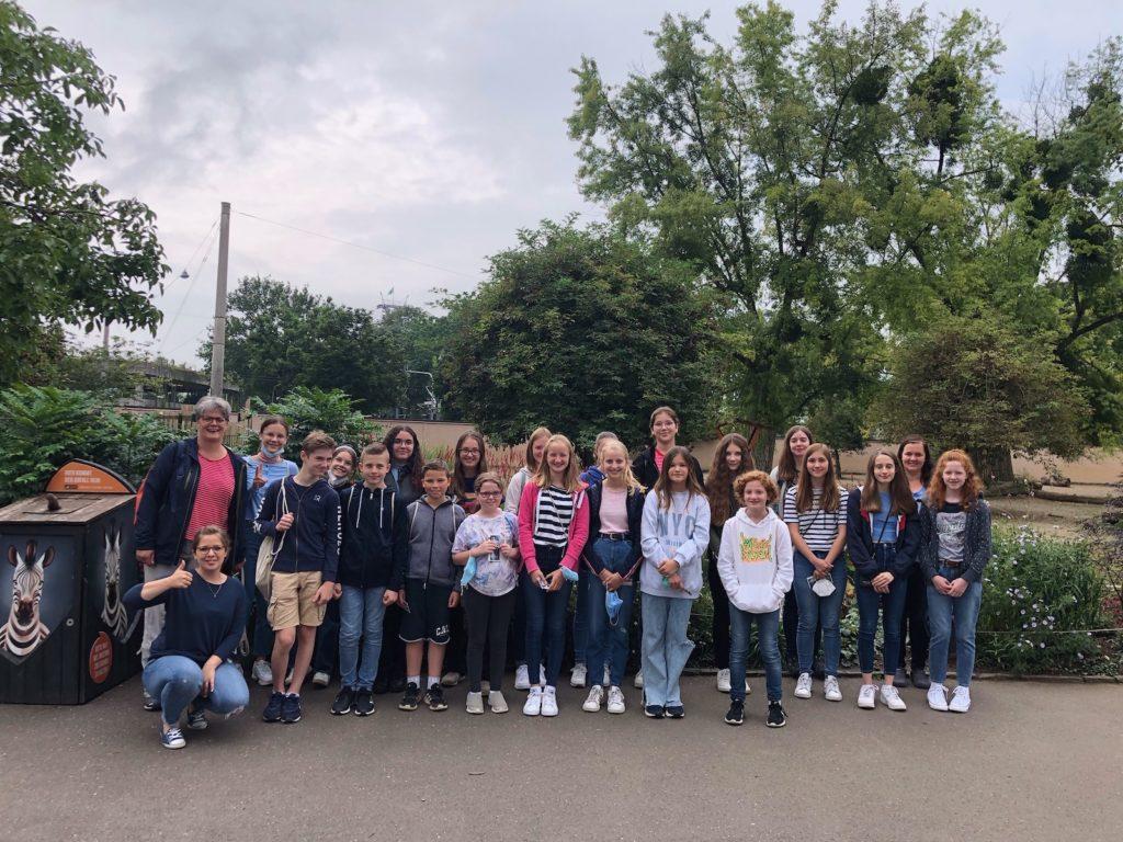 Tagesausflug zum Kölner Zoo - Gymnasium Calvarienberg